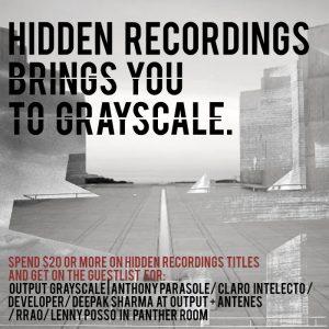 Hidden Output Grayscale